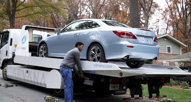 Carvana - Used Car Vehicle Delivery