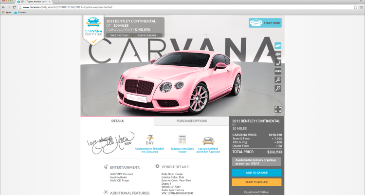 carvana blog a better way to buy a car online car buying. Black Bedroom Furniture Sets. Home Design Ideas